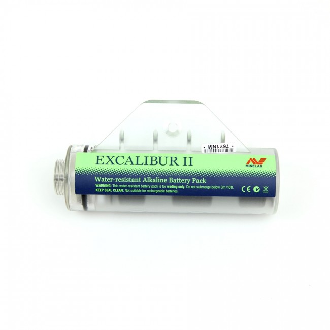Pacco Batterie Alkaline per Minelab Excalibur