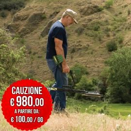 NOLEGGIO GARRETT GTI 2500 TREASURE HOUND