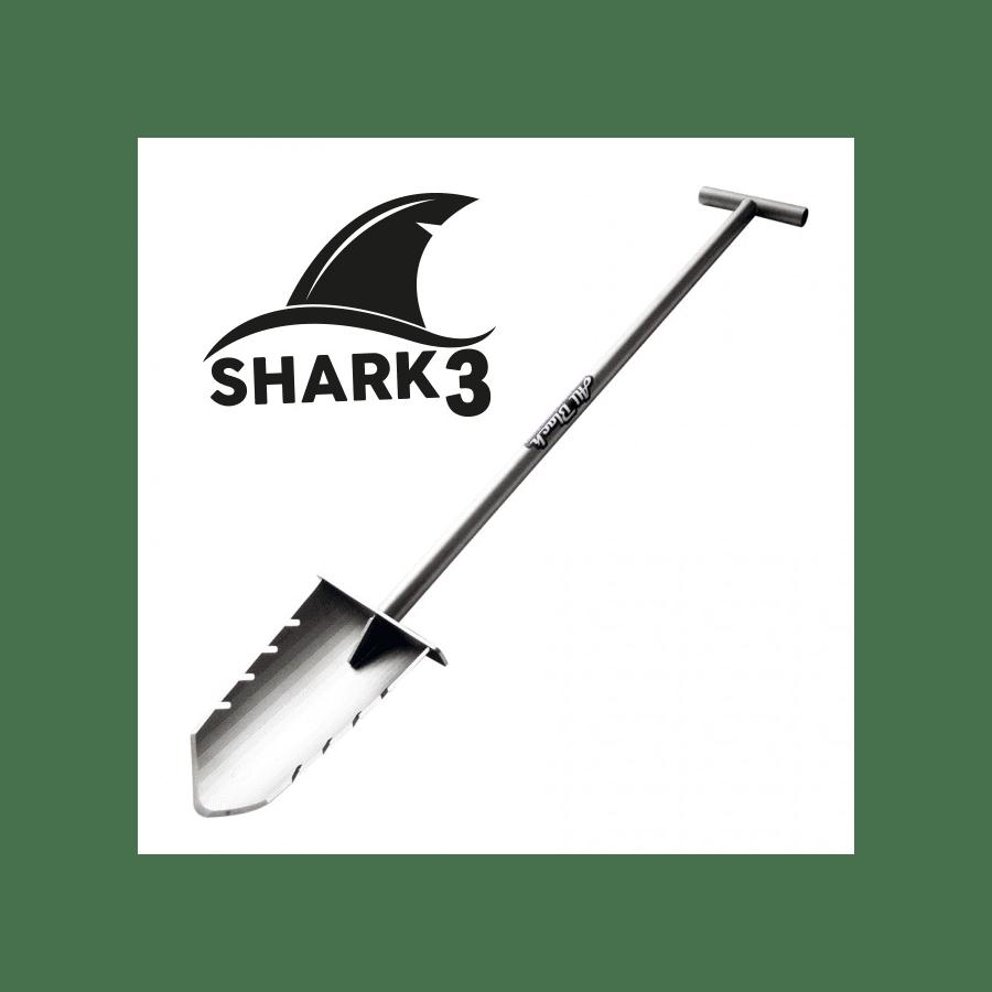 Mini vanga in Acciaio Shark III