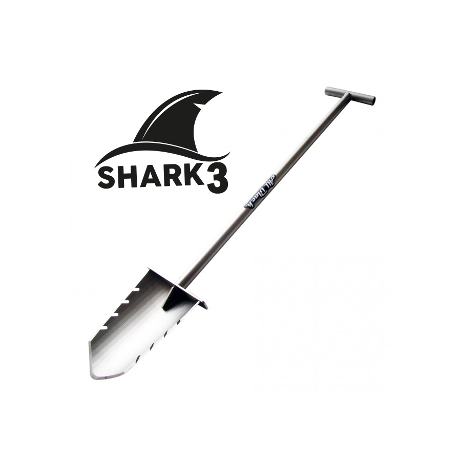 Mini vanga in Acciaio Shark II