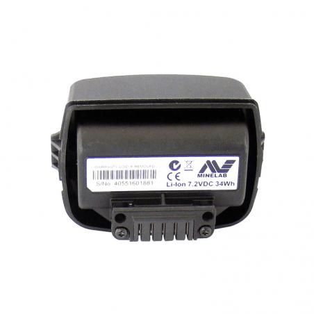 Pacco Batterie al Litio Minelab per CTX-3030