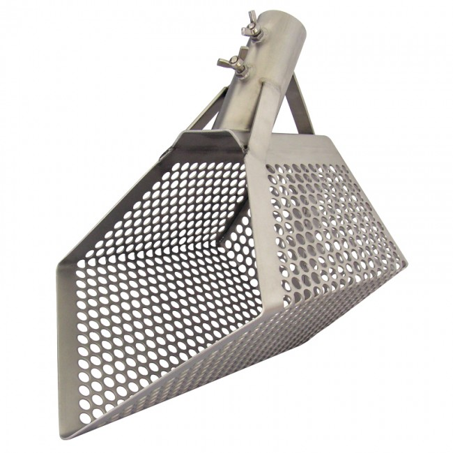 Kubo Steel Perforated Shovel
