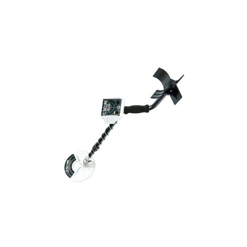 c scope metal detector instructions